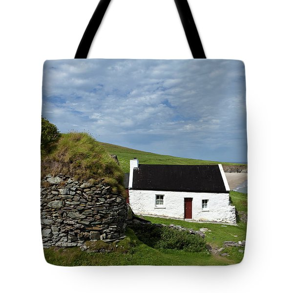 Cottage And Deserted Cottages On Great Tote Bag