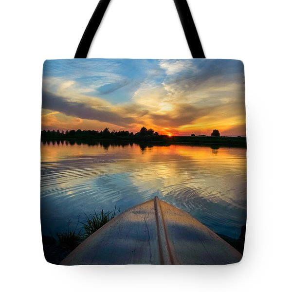 Cottage Country's Silhouette Tote Bag