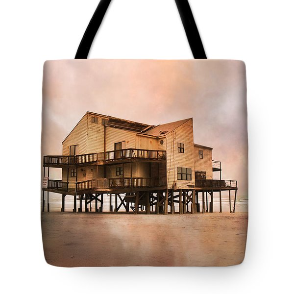 Cottage Of The Past Tote Bag by Betsy Knapp