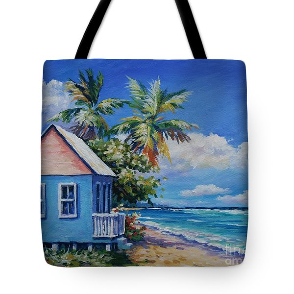 Cottage On The Beach Tote Bag