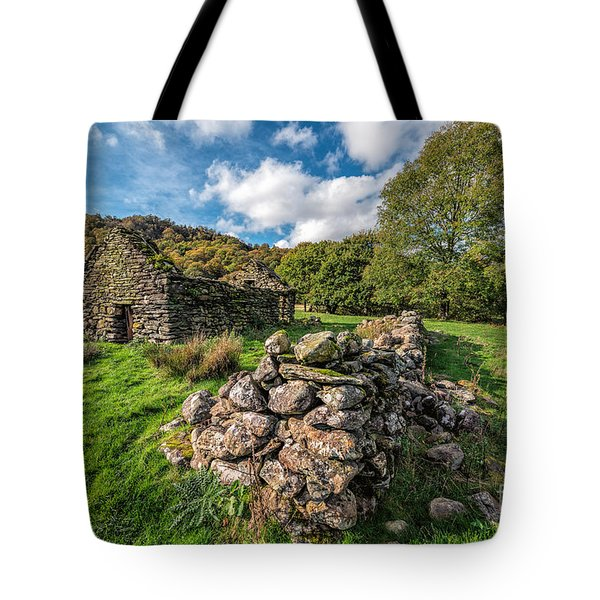 Cottage Ruin Tote Bag by Adrian Evans