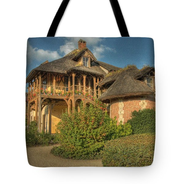 Cottage Versailles Tote Bag