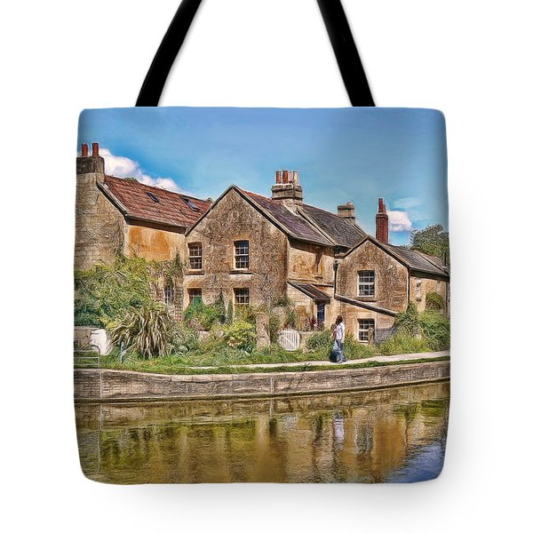 Cottages At Avoncliff Tote Bag