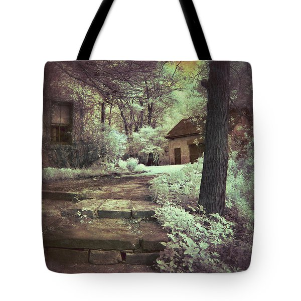 Cottages In The Woods Tote Bag by Jill Battaglia
