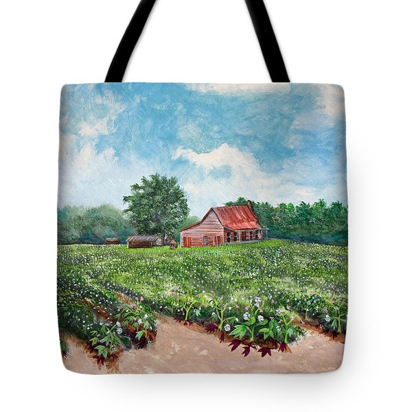 Cotton Be Here Tote Bag