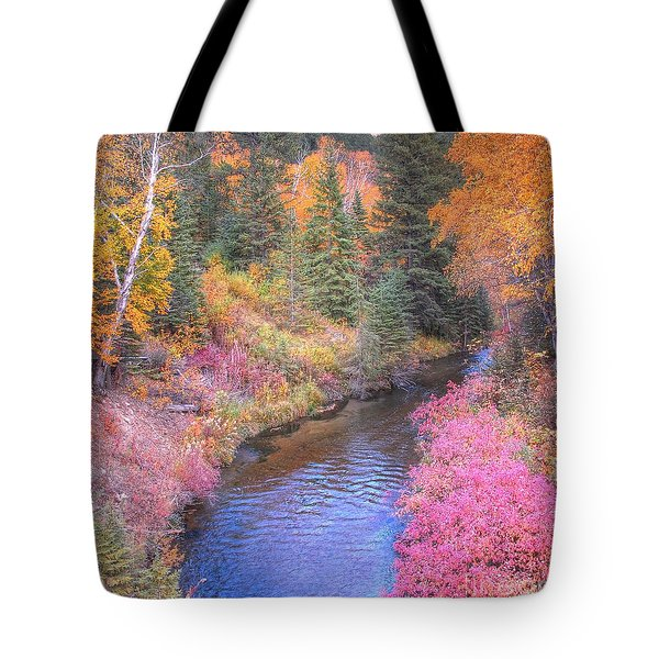 Cotton Candy Creek Tote Bag