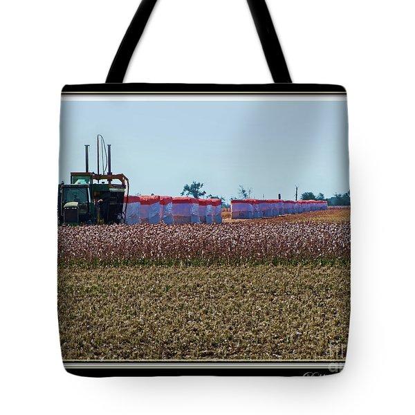 Cotton Harvest Tote Bag