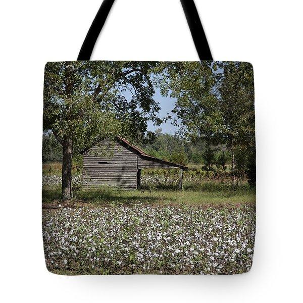 Cotton In Rural Alabama Tote Bag