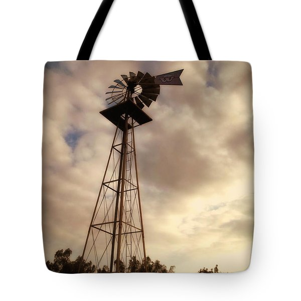 Cotton Skies Tote Bag by Glenn McCarthy Art and Photography