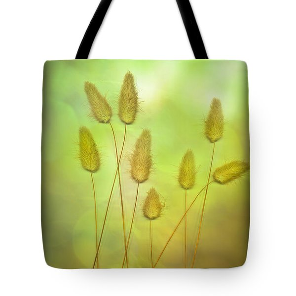 Cottontails Tote Bag by Jan Bickerton