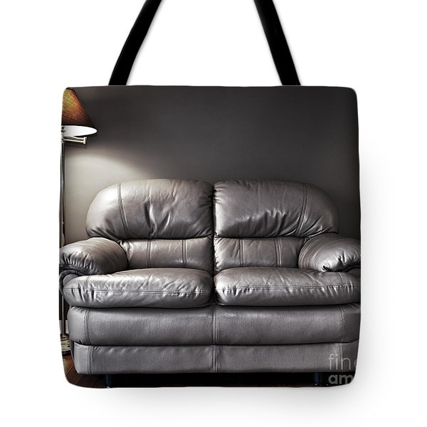 Couch And Lamp Tote Bag by Elena Elisseeva