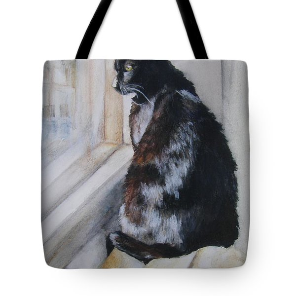 Couch Potato Tote Bag by Lori Brackett