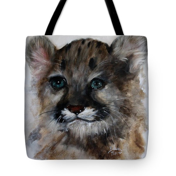 Antares - Cougar Cub Tote Bag by Barbie Batson