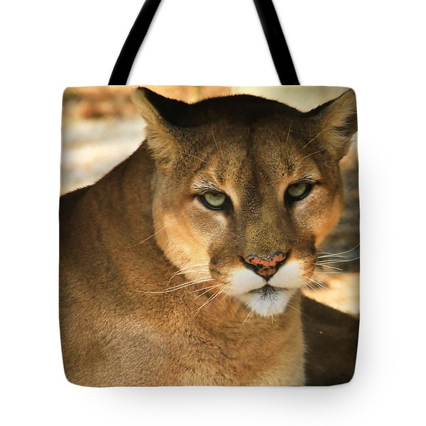 Cougar II Tote Bag by Roger Becker