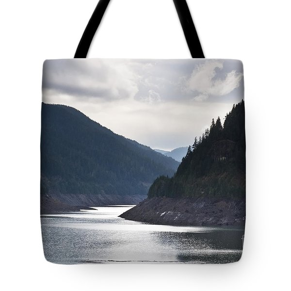 Tote Bag featuring the photograph Cougar Reservoir by Belinda Greb