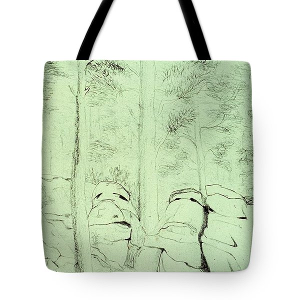 Council Of The Elders Tote Bag