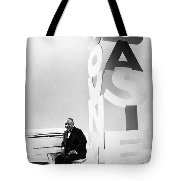 Count Basie (1904-1984) Tote Bag by Granger