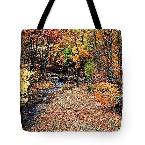 Count The Colors Tote Bag