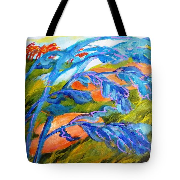 Count The Wind Tote Bag by Betty M M   Wong
