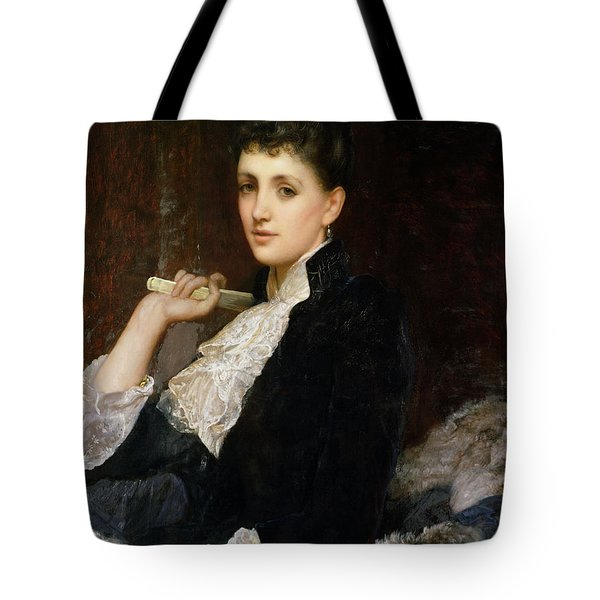 Countess Of Airlie Tote Bag by Sir William Blake Richmond
