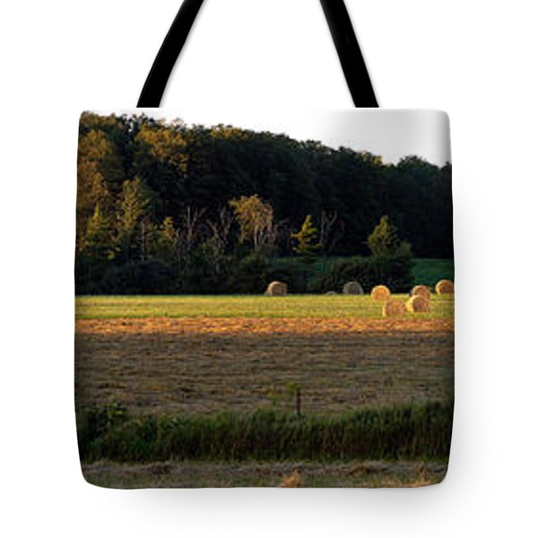 Country Bales  Tote Bag