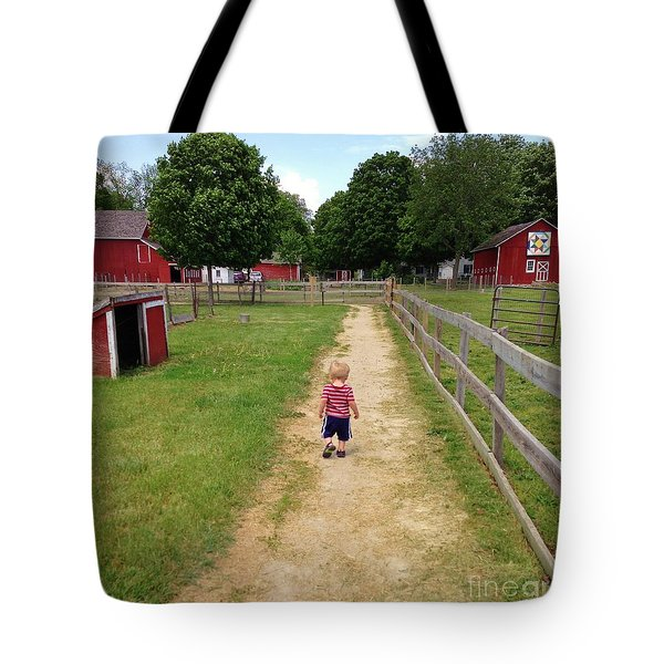 Country Boy Tote Bag