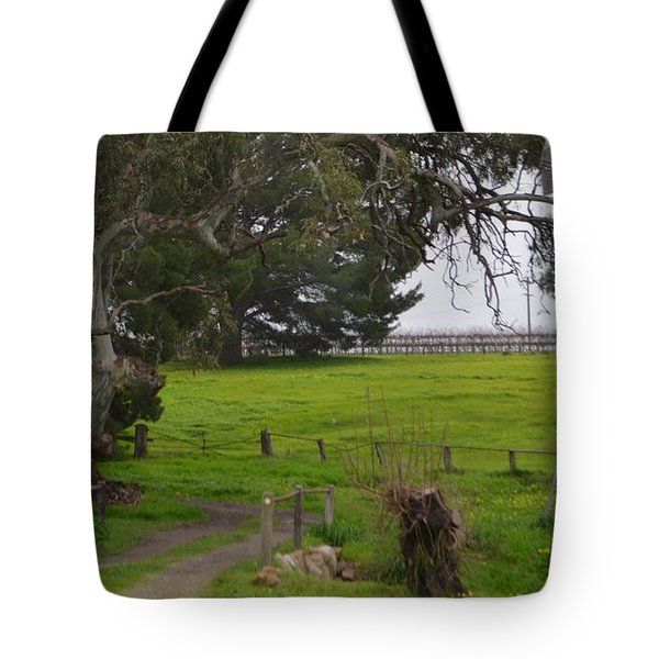 Country Bridge Tote Bag