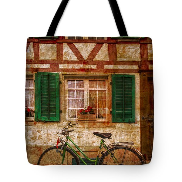 Country Charm Tote Bag by Debra and Dave Vanderlaan