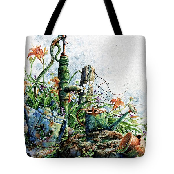 Country Charm Tote Bag by Hanne Lore Koehler