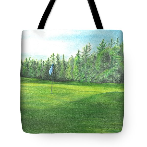 Country Club Tote Bag by Troy Levesque