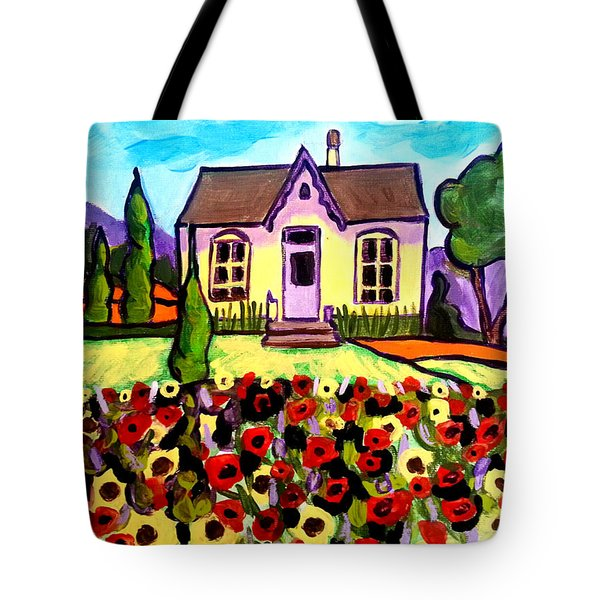 Country Cottage 3 Tote Bag