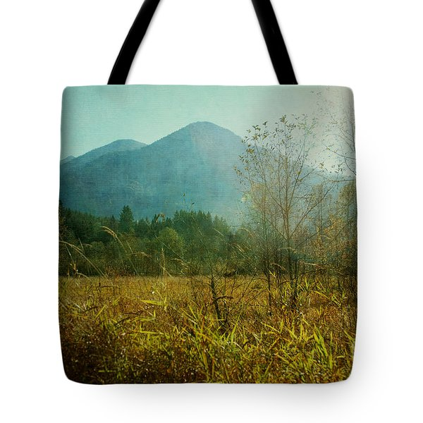 Tote Bag featuring the photograph Country Drive by Sylvia Cook