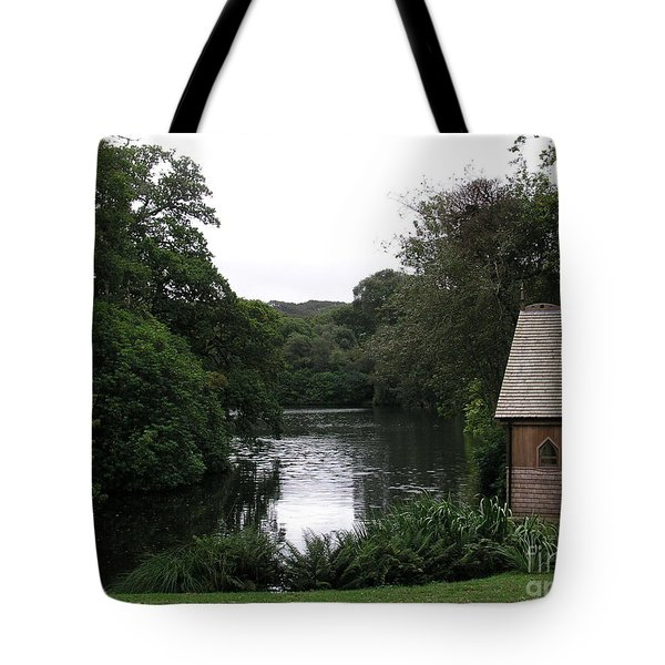 Country Estate Tote Bag by Bev Conover