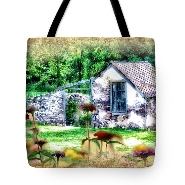 Country Garden Tote Bag by Bill Cannon