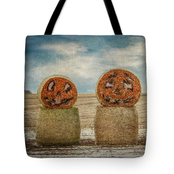 Tote Bag featuring the photograph Country Halloween by Patti Deters