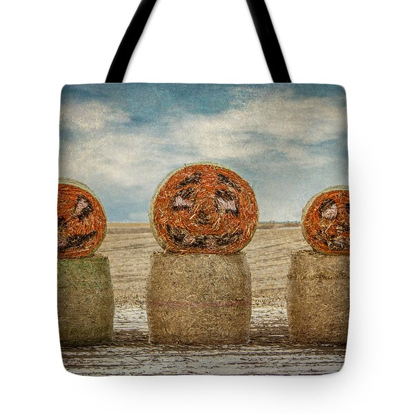 Country Halloween Tote Bag by Patti Deters