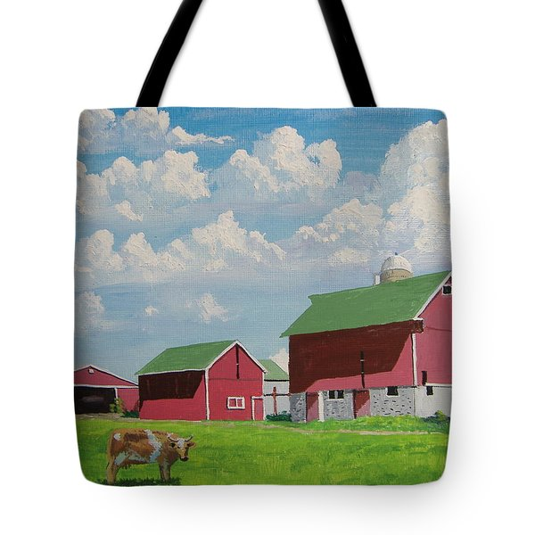 Country Home Tote Bag by Norm Starks