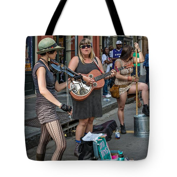 Country In The French Quarter Tote Bag by Steve Harrington