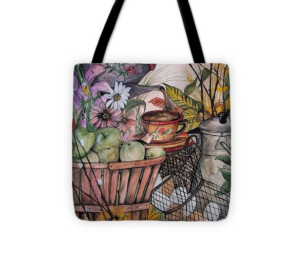 Country Kitchen Tote Bag by Laneea Tolley