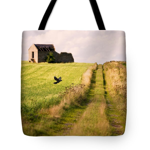 Country Lane Tote Bag by Amanda Elwell