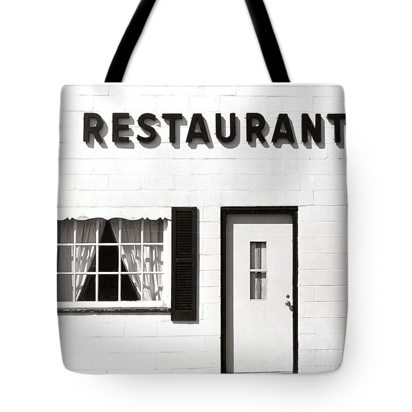 Country Restaurant Tote Bag