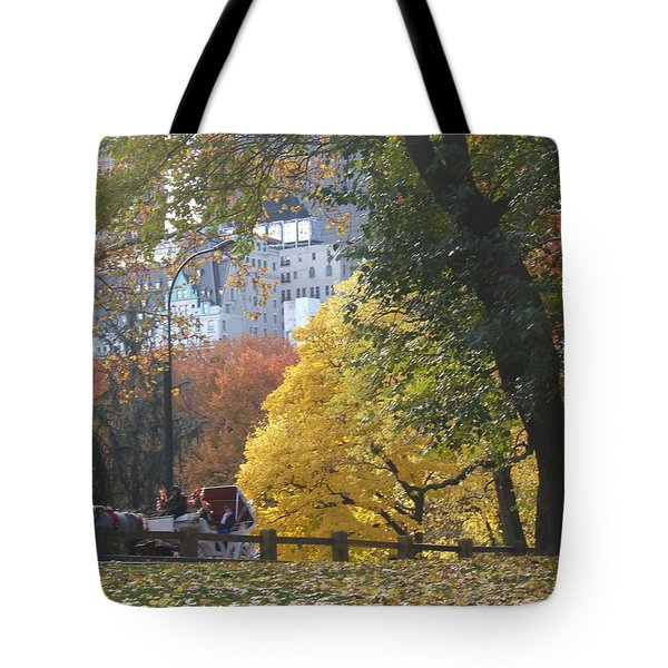 Tote Bag featuring the photograph Country Ride In The City by Barbara McDevitt