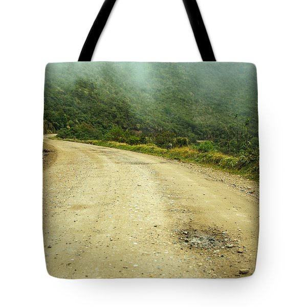 Country Road In Colombia Tote Bag by Jess Kraft