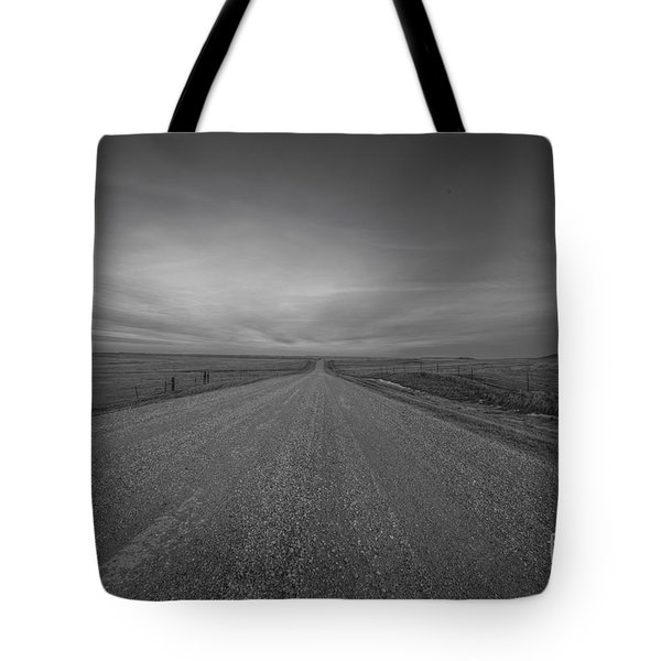A Country Road Of South Dakota Tote Bag