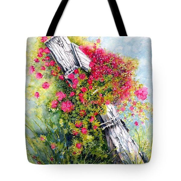 Country Rose Tote Bag