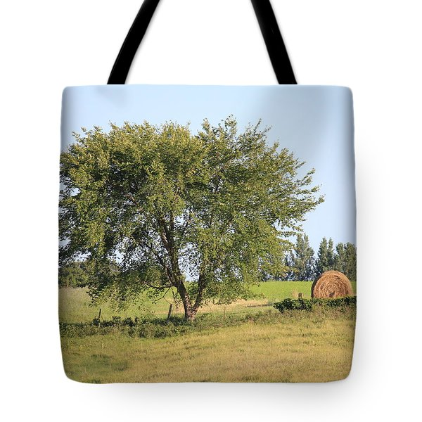 Tote Bag featuring the photograph Country Scene by Penny Meyers