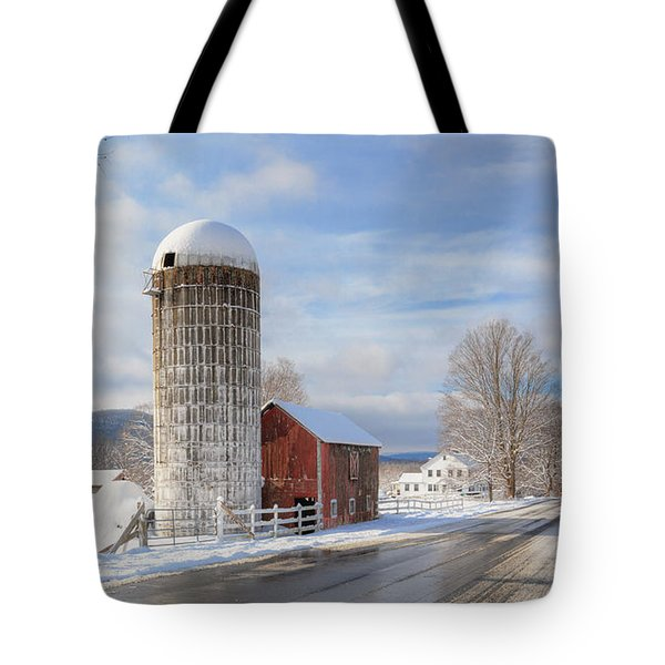 Country Snow Tote Bag by Bill Wakeley
