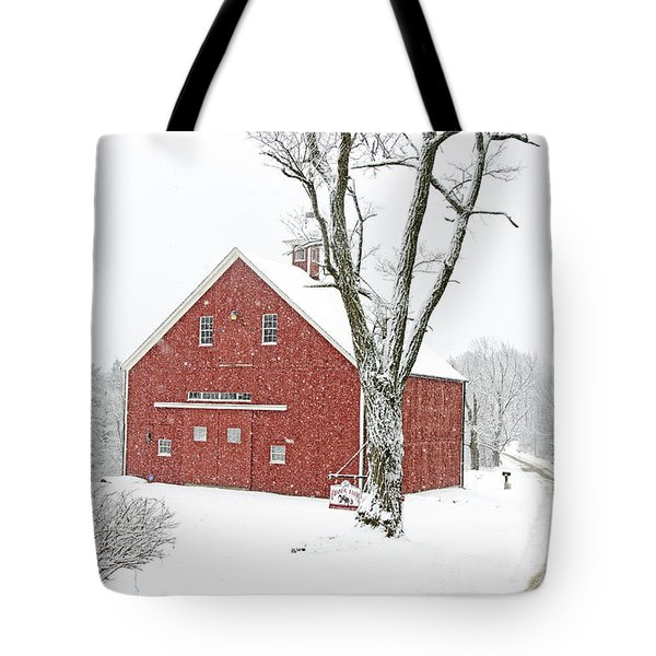 Country Snow Tote Bag