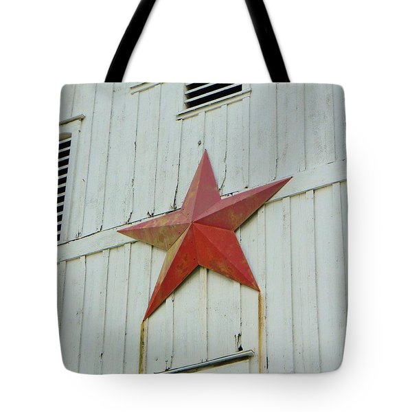 Country Star Tote Bag by Jean Goodwin Brooks