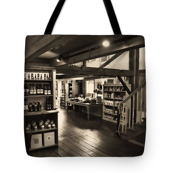 Country Store Tote Bag by Bill Howard